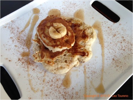 Caramelized Banana pancake