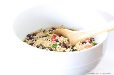 Black bean risotto Large bowl