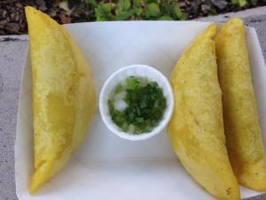 Colombian beef empanada