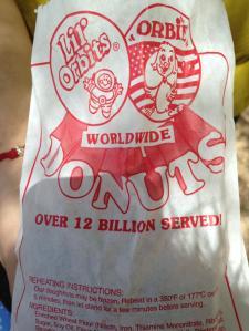 Lil Orbites mini donuts