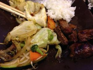 NY Teriyaki steak