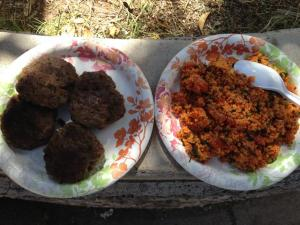 Turkish Meatballs and Kisri salad