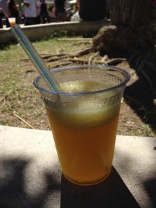 Vietnamese Mango slushy